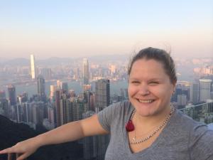 lisa in HK
