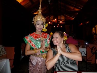 Thai Dancer Namaste