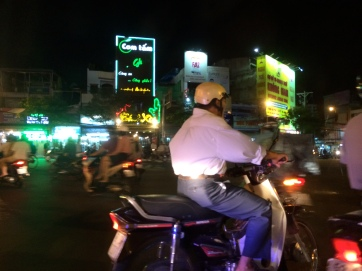 Saigon Street Traffic Vietnam LisaDeviAdventures