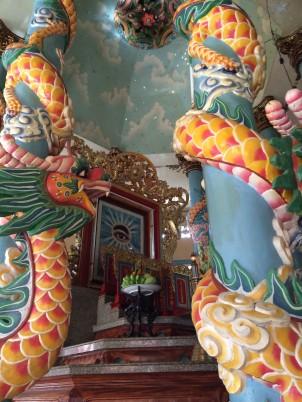 Cao Dai Temple My Tho Vietnam