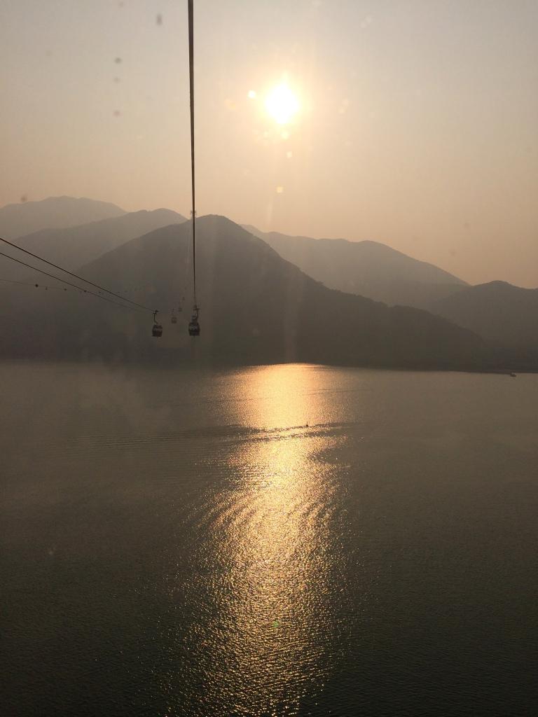 Cable Car to Big Buddha Hong Kong LisaDeviAdventures