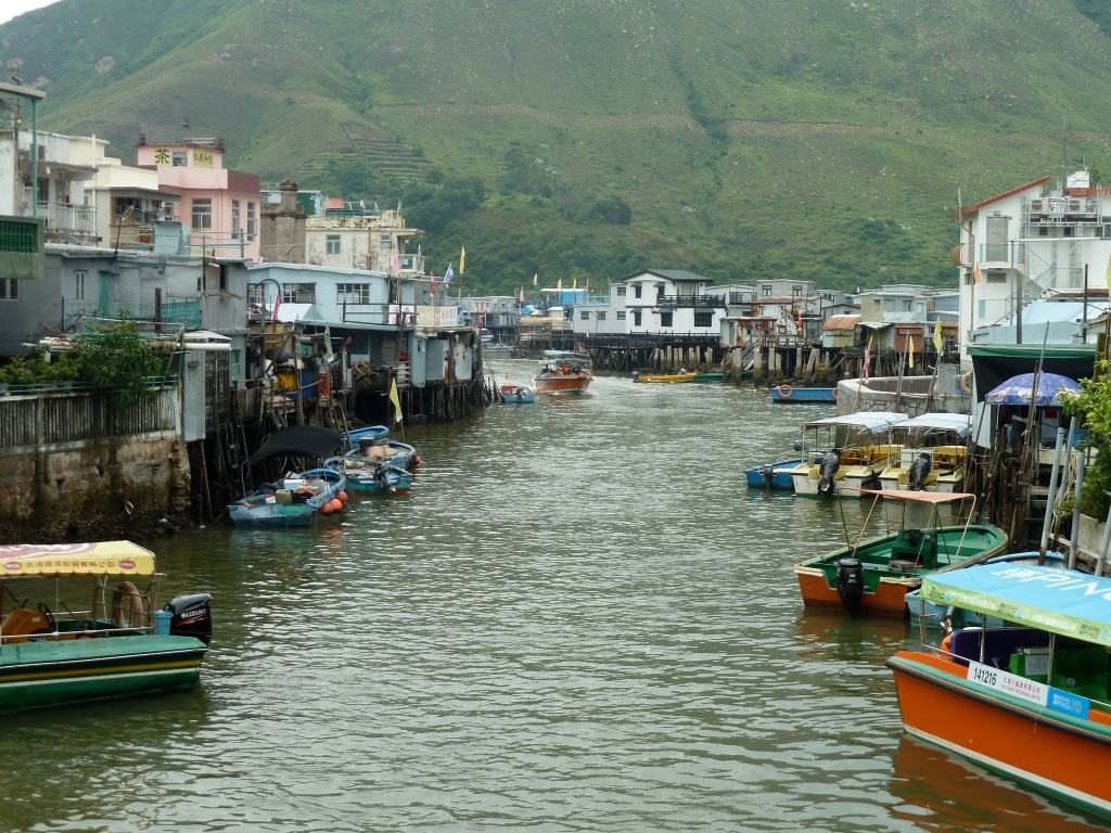 Water and Houses of Tai O Fishing Village Hong Kong LisaDeviAdventures