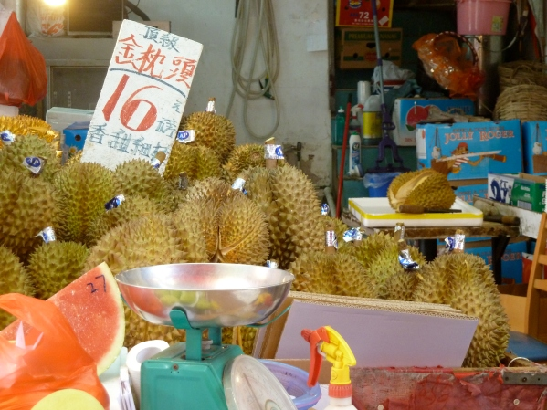 Durian in Kowloon City, Hong Kong