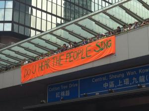 Do you hear the people sing Occupy Central Hong Kong
