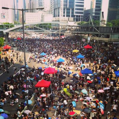 Occupy Central Umbrella Revolution Hong Kong