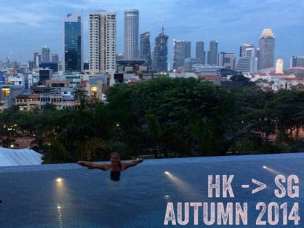 Hong Kong to Singapore LisaDeviAdventures Lisa Kazmer