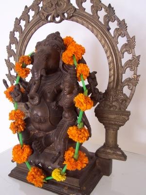 Ganesha in Delhi Hotel LisaDeviAdventures