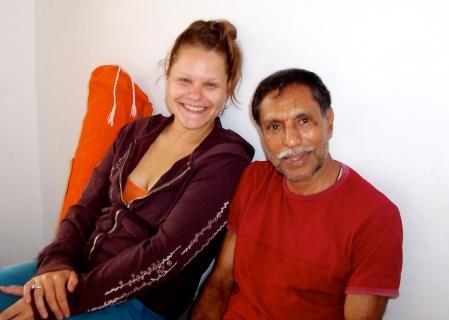 Sheshadri and Lisa Mysore India