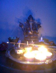 Ganesha Mysore Room Pure Yoga LisaDeviAdventures