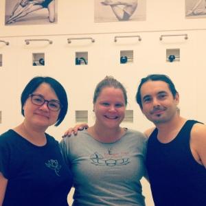 Lisa Kazmer George Dovas and Kitty Wong
