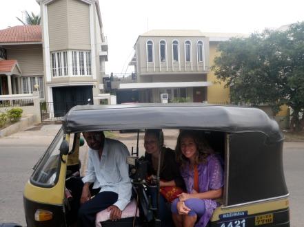 Raju Rickshaw Driver in Mysore LisaDeviAdventures