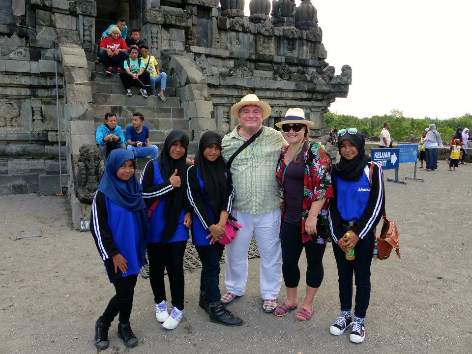 friends in prambanan