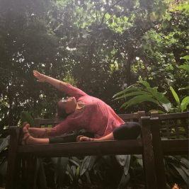 singapore botanic gardens yoga lisa kazmer lisadevi